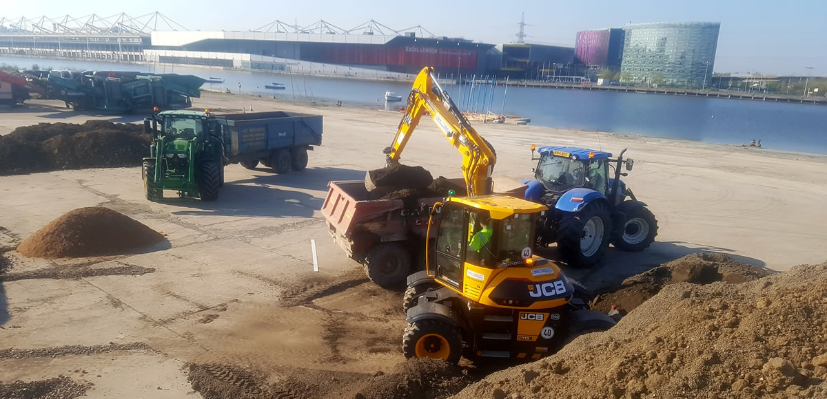 Landscaping & Seeding at City Airport London